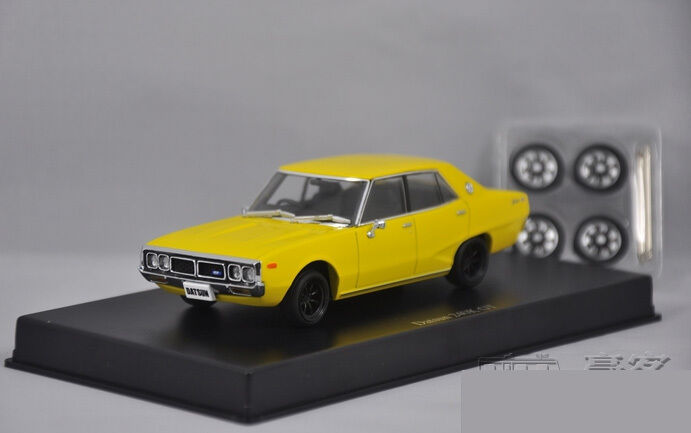 1 43 DISM NISSAN Datsun 240K GT Die Cast Model Yellow