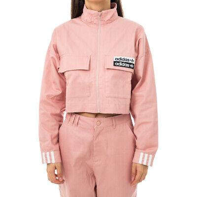 adidas felpa zip rosa
