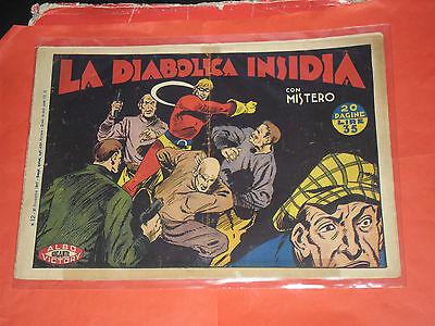 MISTERO ALBO GIGANTE RARA SERIE  N° 13  - ORIGINALE ALBI VICTORY 1947 -no RAGAR