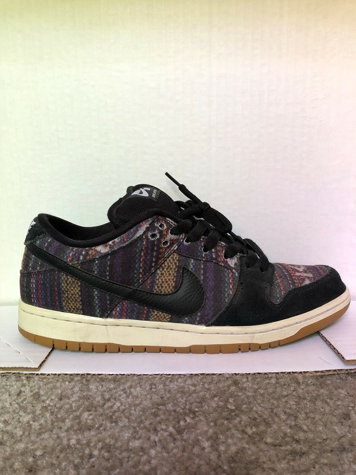 PRE OWNED Nike Dunk Low Premium SB QS 9.5 504750 901