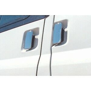 00-14 Chrome Stainless Steel 4 Door Handle Covers for Ford Transit MK6 /& MK7