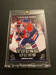 2010-11-Upper-Deck-Young-Guns-Taylor-Hall-Rc-Rookie-219