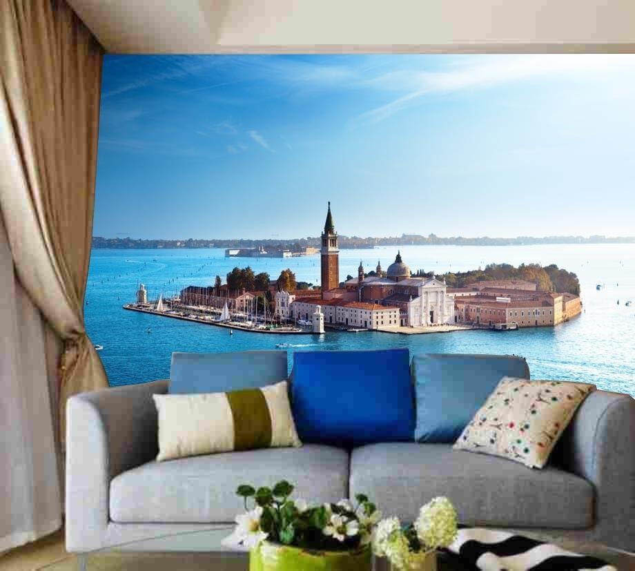 3D Romantischste Stadt Der Welt 74 Tapete Wandgemälde Tapeten Bild Familie DE