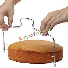 pan de corte ajustable herramienta de la torta del cortador máquina de cortar