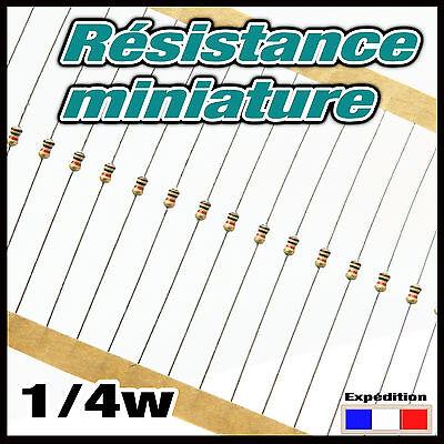 1//8 560RM#20 à 250pcs 560 ohms résistance miniature 1//4w resistor 0,25w
