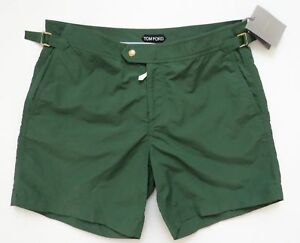 189a6b3d1b $690 TOM FORD Green Swimming Trunks Shorts Bathing Suit Size 56 Euro ...