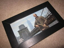 GTA 4 Grand Theft Auto IV Picture+Frame Blockbuster preorder Xbox 360/One/PS3/PC