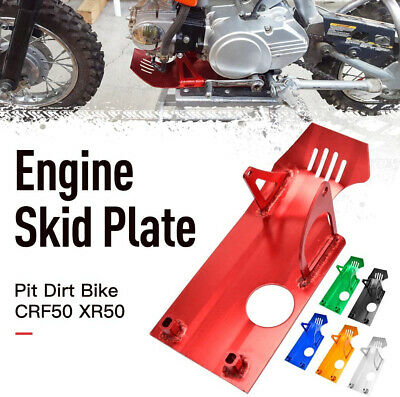 HIAORS Blue Aluminum Engine Skid Plate for XR50 CRF50 50cc 90cc 110cc 125cc 140cc Lifan YX SSR Thumpstar Coolster Dirt Pit Bike Parts