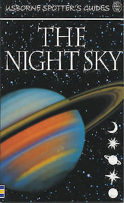 """""""AS NEW"""" The Night Sky (Usborne New Spotters' Guides), Henbest, Nigel, Book"""