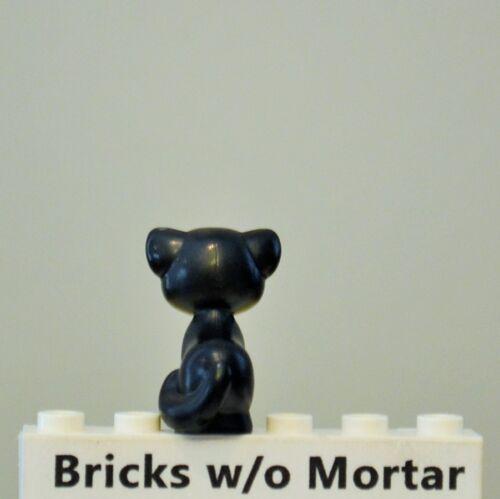 New Genuine LEGO Black Cat Sitting Animal 41055 41119