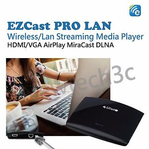 Details about EZCast PRO LAN wifi display receiver HDMI/VGA adapter AirPlay  Mircast DLNA