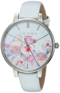 80eb428d8f83f Ted Baker Women s  KATE  Floral Dial White Strap Watch TEC10025012 ...