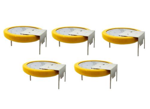 5 x GS-CMOS Batterie //Battery BIOS BR//CR2032-GS mit Lötfahne 3V für PC PUTINCELL