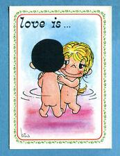 LOVE IS - Ed. Panini 1985 - Figurina/Sticker n. 121 -New