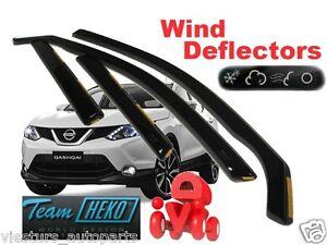NISSAN-QASHQAI-J11-5D-II-2013-Wind-deflectors-4-pc-HEKO-24286
