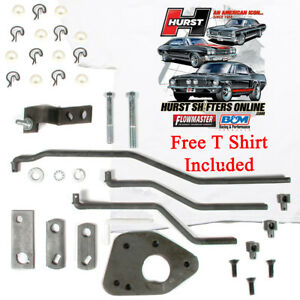 Details about Hurst 3737638 Comp 4 Speed Shifter Install Linkage Kit Type  433 Ford Top Loader