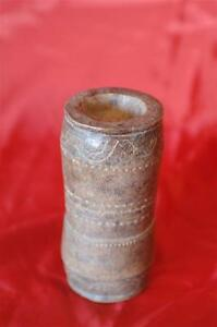 Old Timor Island Carved Bamboo Tobacco Holder… beautiful collector's piece...
