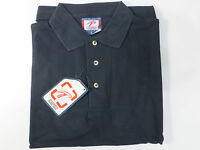Sealed Men's100% Cotton Solid Navy Polo Shirt Size S Work,casual,dress Nice