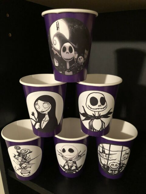 12 the nightmare before christmas movie birthday party paper cups