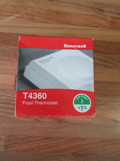 HONEYWELL Frost Stat New in box T4360 A1009  Thermostat Free P/&P