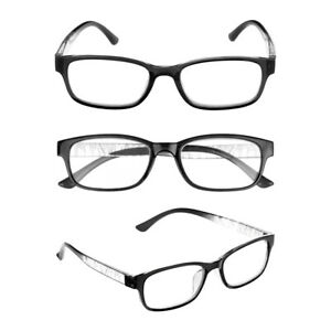 Spring-Hinge-Eye-wear-Vision-Care-Reading-Glasses-Eyeglasses-1-00-4-0-Diopter