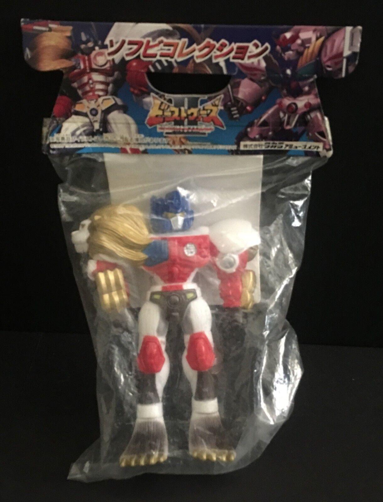 Transformers Leo Convoy Optimus Primal Figure Takara Sealed   Sofubi Vinyl