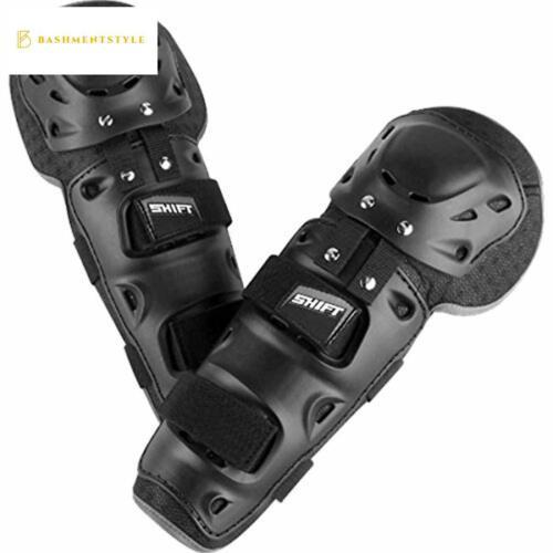 Shift Racing Enforcer Adult Knee//Shin Guard Motocross Motorcycle Body Armor Bl