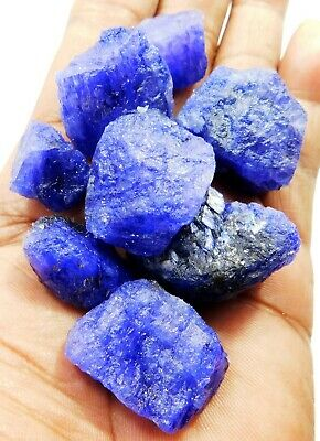 Details about  /10.00 Cts Natural Earth Mined African Blue Sapphire Rough Raw Loose Gemstone