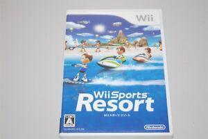 Wii Sports Resort Japan Nintendo Wii game
