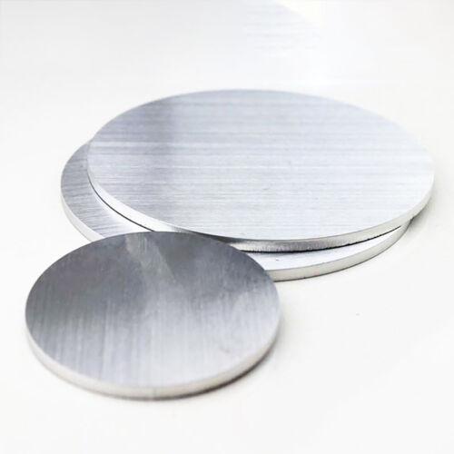 Multi Sizes 304 Stainless Steel Round Discs Sheet Metal Precision Laser Cut