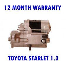 TOYOTA STARLET 1.3 HATCHBACK 1995 1996 1997 1998 1999 RMFD STARTER MOTOR