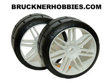 1:5 GRP Touring car tires on white rims (2) GWH02-S7 Medium - FAST DELIVERY!