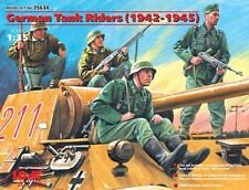 ICM 1/35 German Tank Riders 1942-45 (4 x Figure) # 35634