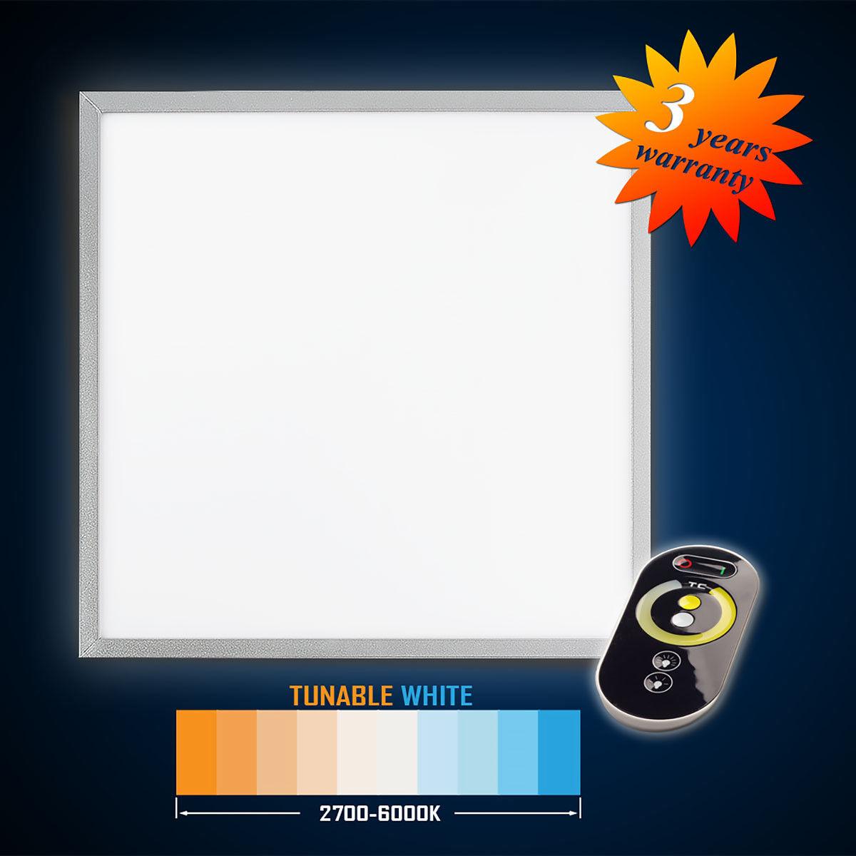 vendita calda online Pannello LED LED LED 62x62 42w (S) tunable bianca (3000-5000k) Dimmerabile  consegna gratuita