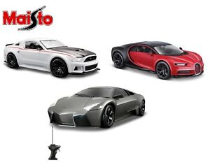 MAISTO-1-24-SCALE-DIECAST-MODEL-CAR-GIFT-TOY-BUGATTI-FORD-LAMBORGHINI