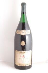 Bourgogne-Thorin-Pontanevaux-1961-Mathusalem-6-L-8-Bouteilles