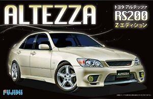 Kit Fujimi Id-27 Toyota Hauteur Rs200 Z - Édition 1/24 Echelle