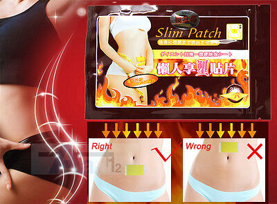 30PCS New Extra Strong Slim Patches Diet Slimming Fast Loss Weight Patch Detox