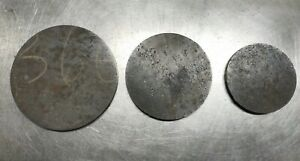 """AR500 1//2/"""" American Steel Shooting Targets 4"""" 5"""" 6"""" Circle Bundle"""