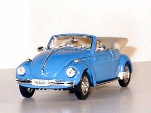 VW Volkswagen Käfer / Beetle - blue - WELLY 1:24