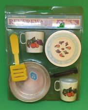 Chilton Revere Ware playset toy dishes original package 6 pc copper pan 0282-9