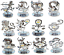 Crystocraft-Zodiac-Sign-Crystal-Ornament-Star-Sign-Swarovski-Elements-Boxed thumbnail 2