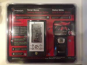 NEW-Ferrari-Monza-Desktop-Weather-Station-Oregon-Scienticfic-FAW101A-B-RARE