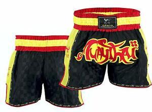 EVO Pantaloncini Da Lotta Muay Thai MMA Kick Boxing Arti Marziali Cage Combattere UFC Gear