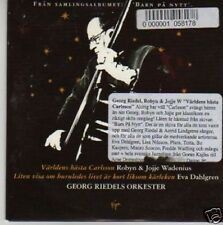 (98P) Georg Riedels Orkester, Varldens Basta Ca - DJ CD
