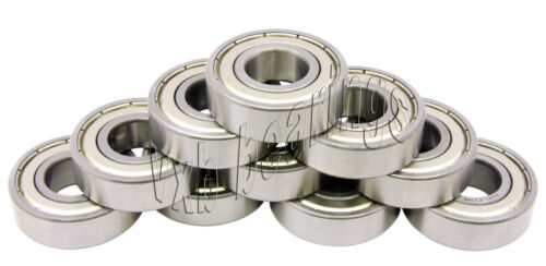 10 Bearing 6203 Z 17 x 40 x 12 mm Metric Bearings VXB