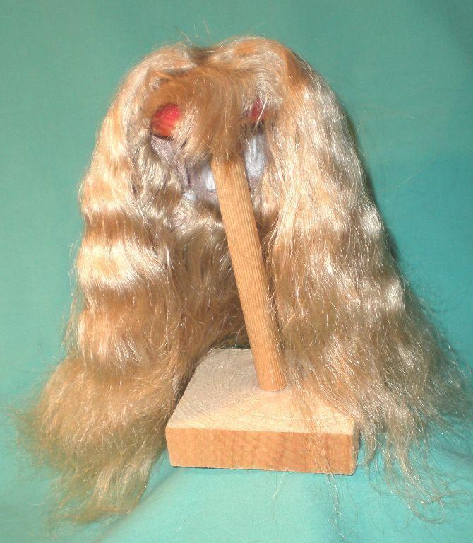 Doll wig/ human hair 12.5