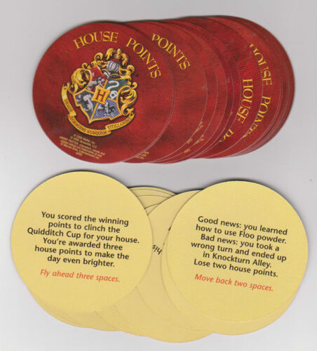 Scene It Harry Potter Replacement 30 House Point Cards Complete