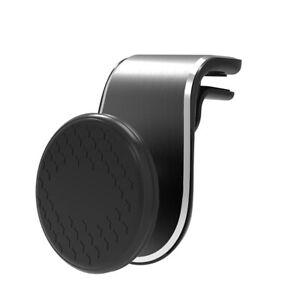 Car-air-outlet-magnetic-phone-holder-black