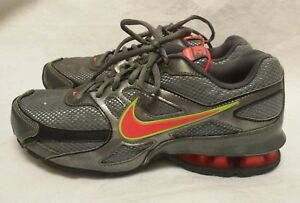 7e2620e133bf Women s NIKE REAX RUN DOMINATE Running Athletic Shoes Grey   Orange ...